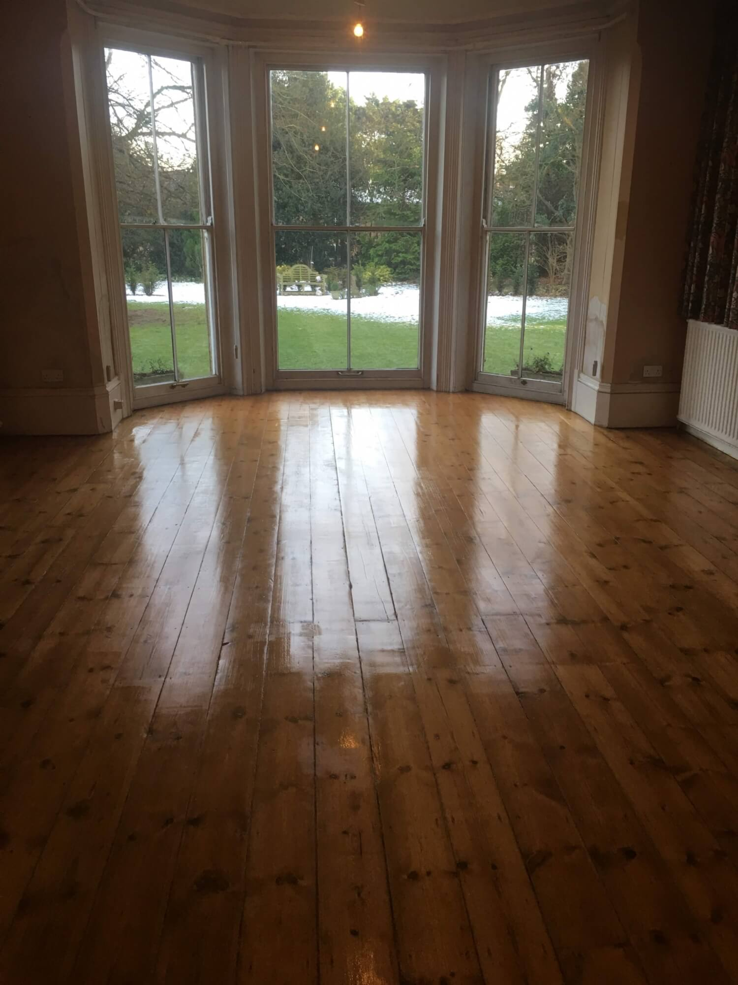 Floor Restoration Haddenham, Ely